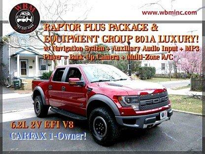 2014 Ford F150 4x4 Crew Cab SVT Raptor for sale 100962874