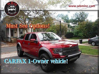 2014 Ford F150 4x4 Crew Cab SVT Raptor for sale 101031419