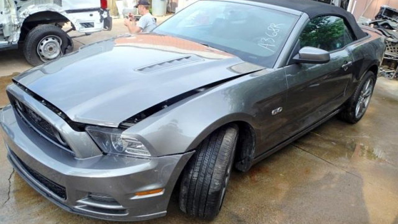 2014 Ford Mustang GT Convertible for sale 100766447