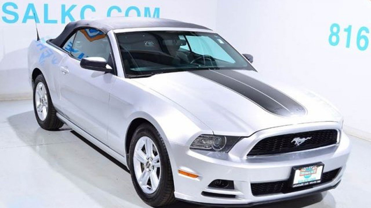 2014 Ford Mustang Convertible for sale 100890553