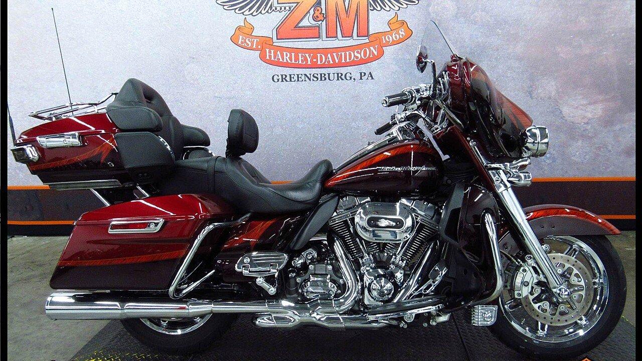 2014 Harley-Davidson CVO for sale 200522329