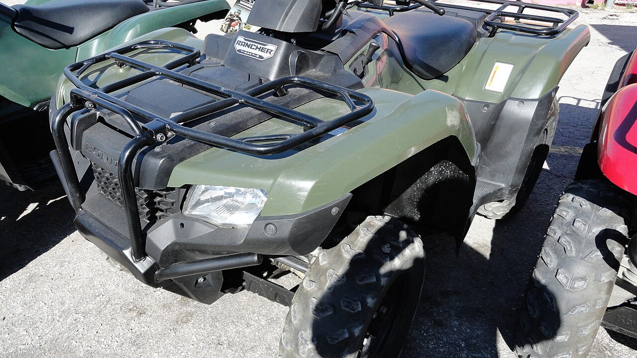 2014 Honda FourTrax Rancher for sale 200413564