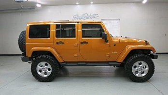 2014 Jeep Wrangler 4WD Unlimited Sahara for sale 100768485