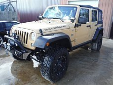 2014 Jeep Wrangler 4WD Unlimited Sport for sale 100838084