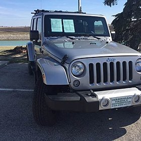 2014 Jeep Wrangler 4WD Unlimited Sahara for sale 100850548