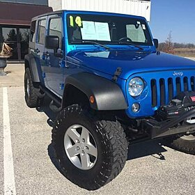 2014 Jeep Wrangler 4WD Unlimited Sport for sale 100850550