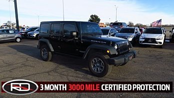 2014 Jeep Wrangler 4WD Unlimited Rubicon for sale 100847978