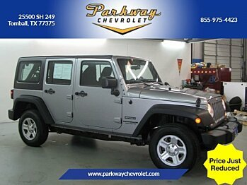 2014 Jeep Wrangler 4WD Unlimited Sport for sale 100929372