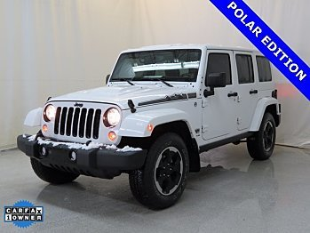 2014 Jeep Wrangler 4WD Unlimited Sahara for sale 100931455