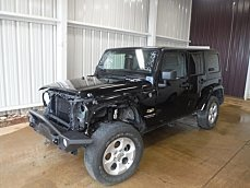 2014 Jeep Wrangler 4WD Unlimited Sahara for sale 100864384