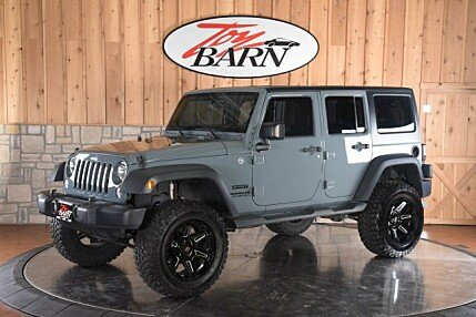 2014 Jeep Wrangler 4WD Unlimited Sport for sale 100892015