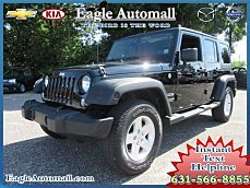 2014 Jeep Wrangler 4WD Unlimited Sport for sale 100894985