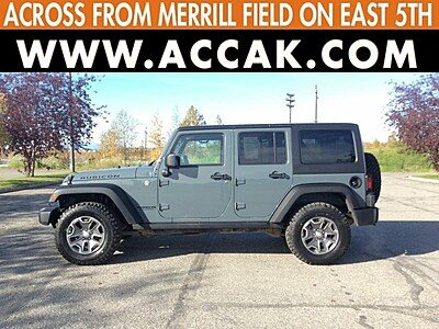 2014 Jeep Wrangler 4WD Unlimited Rubicon for sale 100904198