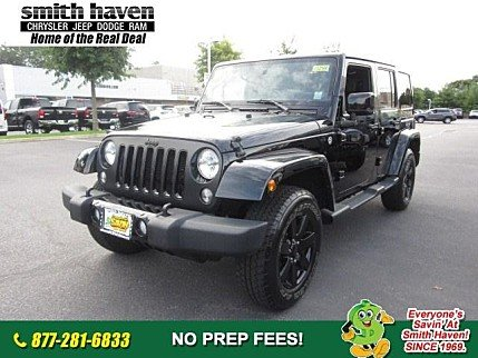 2014 Jeep Wrangler 4WD Unlimited Sahara for sale 100906617