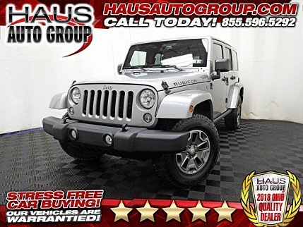 2014 Jeep Wrangler 4WD Unlimited Rubicon for sale 100910135