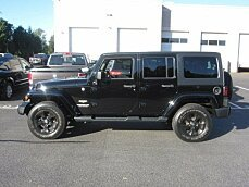 2014 Jeep Wrangler 4WD Unlimited Sahara for sale 100914737