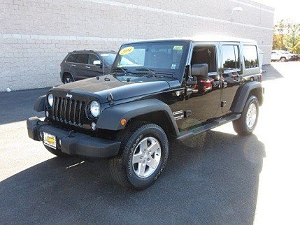 2014 Jeep Wrangler 4WD Unlimited Sport for sale 100925393