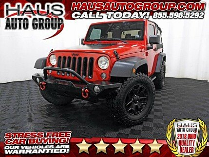 2014 Jeep Wrangler 4WD Sport for sale 100931562