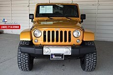 2014 Jeep Wrangler 4WD Unlimited Sahara for sale 100944216