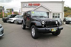 2014 Jeep Wrangler 4WD Unlimited Sport for sale 100946376