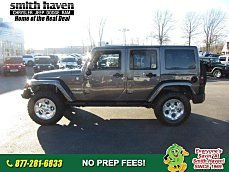 2014 Jeep Wrangler 4WD Unlimited Sahara for sale 100947583