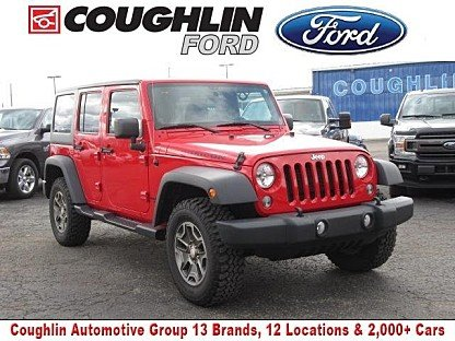 2014 Jeep Wrangler 4WD Unlimited Rubicon for sale 100958090