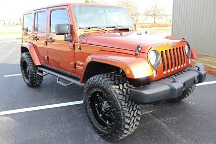 2014 Jeep Wrangler 4WD Unlimited Sahara for sale 100965736