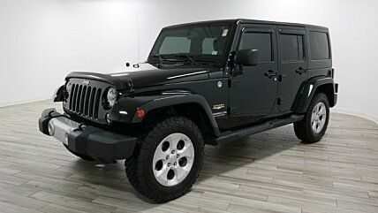 2014 Jeep Wrangler 4WD Unlimited Sahara for sale 100970033