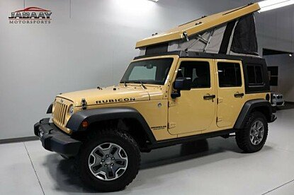 2014 Jeep Wrangler 4WD Unlimited Rubicon for sale 100970914