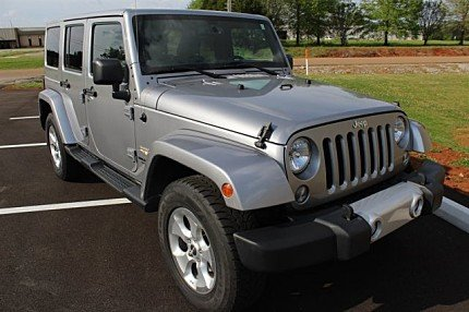 2014 Jeep Wrangler 4WD Unlimited Sahara for sale 100982285