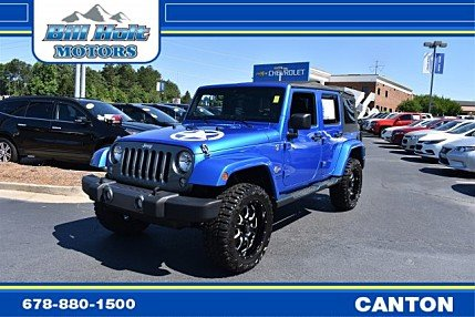 2014 Jeep Wrangler 4WD Unlimited Sport for sale 100988691
