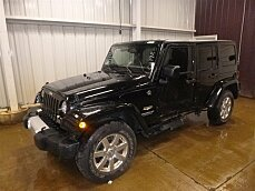 2014 Jeep Wrangler 4WD Unlimited Sahara for sale 101000214