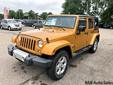2014 Jeep Wrangler 4WD Unlimited Sahara for sale 101001278