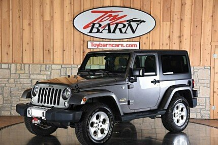 2014 Jeep Wrangler 4WD Sahara for sale 101005281