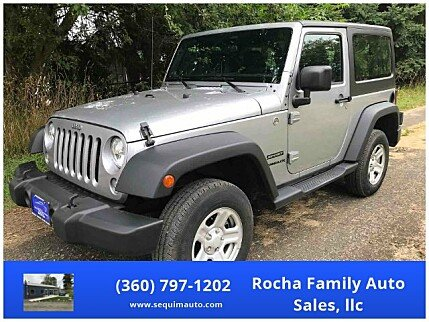 2014 Jeep Wrangler 4WD Sport for sale 101011401