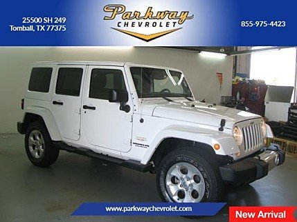 2014 Jeep Wrangler 4WD Unlimited Sahara for sale 101011910