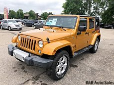 2014 Jeep Wrangler 4WD Unlimited Sahara for sale 101014655