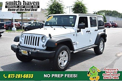 2014 Jeep Wrangler 4WD Unlimited Sport for sale 101017173