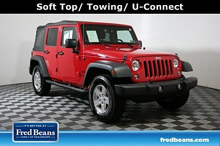 2014 Jeep Wrangler 4WD Unlimited Sport for sale 101023028