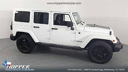 2014 Jeep Wrangler 4WD Unlimited Sahara for sale 101024570