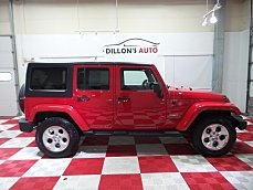 2014 Jeep Wrangler 4WD Unlimited Sahara for sale 101039870