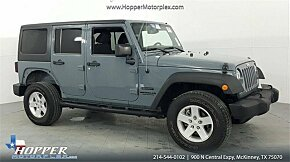 2014 Jeep Wrangler 4WD Unlimited Sport for sale 101053636