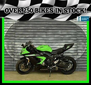 2014 Kawasaki Ninja ZX-6R for sale 200690248