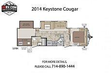 2014 Keystone Cougar for sale 300163452
