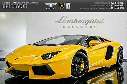 2014 Lamborghini Aventador LP 700-4 Roadster for sale 100778294