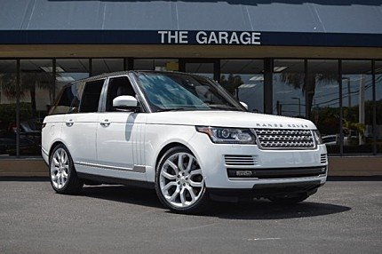 2014 Land Rover Range Rover Supercharged for sale 100862032