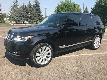 2014 Land Rover Range Rover Long Wheelbase Supercharged for sale 100905883