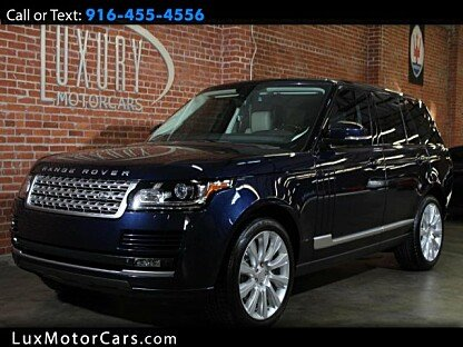 2014 Land Rover Range Rover Supercharged for sale 100914385