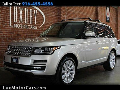 2014 Land Rover Range Rover Supercharged for sale 100953752
