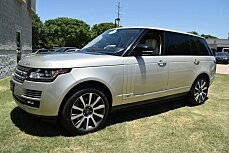 2014 Land Rover Range Rover Long Wheelbase Autobiography for sale 100999856